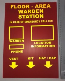 Warden Station Board